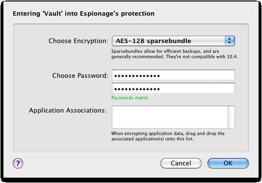 Encrypt the Vault folder + Associate with Dropbox