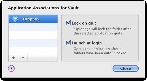 Set Dropbox to launch at login