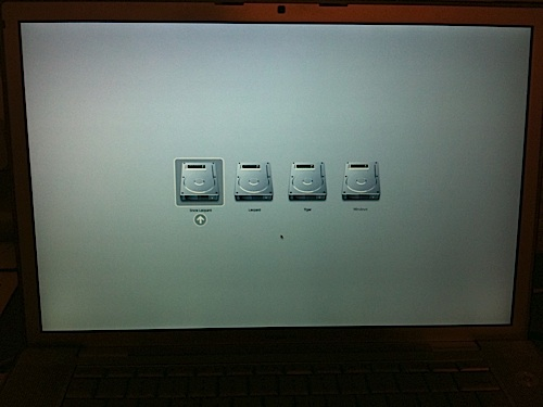 Quad-Booting Mac